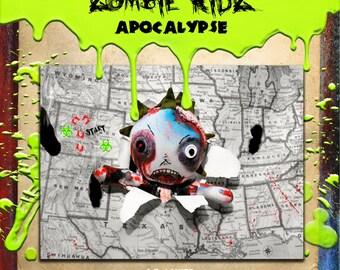 Little Zombie Kidz Apocalypse by A.R. LANIER