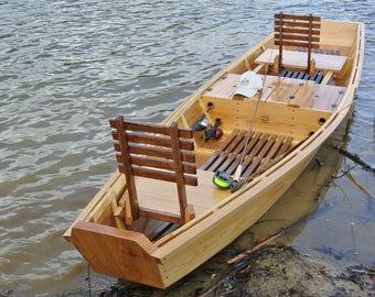 Hand Made Custom Ogeechee River Boat