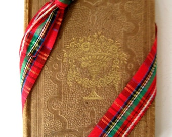 Vintage/Antique 1848 Book, The Ladies' Vase of Wild Flowers by Miss Colman, A Lovely Small Book of Poetry