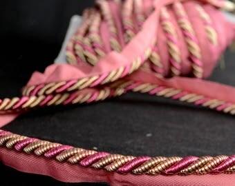 Pink Gold Bellagio Lip Cord Trim BC 10003 42114