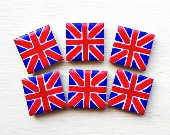 Union Jack Magnet, Fridge Magnet, British Flag