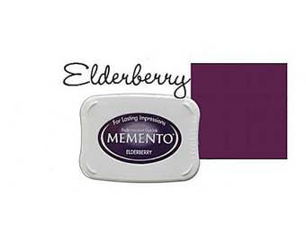 Memento Dye Full Size Water Based Ink Pad ELDERBERRY Purple