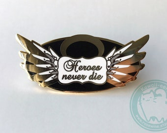 "Overwatch Mercy Inspired 2"" Hard Enamel Pin"