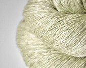 Leaf skeleton OOAK - Tussah Silk Lace Yarn - Black Friday sale: 15% off with code CYBERMONDAY