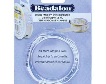 Beadalon Spool Tamer, Beadalon 3-Piece Spool Tamer Set, Spool Tamer, Adjustable Wire Dispenser, Beadalon, Wire Tamer, Spool Cover, Dispeser