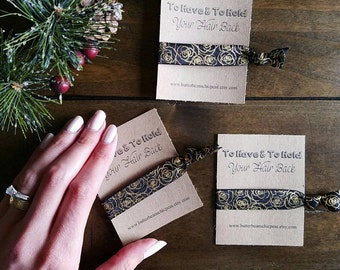 Will you help me Tie the Knot?  To Have & To Hold Your Hair Back. Bridal Party or Shower Favors.