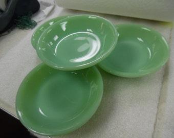 vintage jadite bowl , Fire king Jadite bowl, jadite restaurant bowl, jadite bowls, fire king bowls