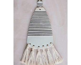 Striped Wall Hanging