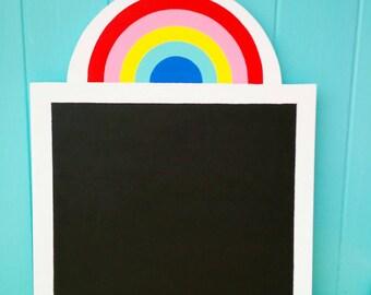 Rainbow Chalkboard, chalkboards, Rainbow, Children's Chalkboards