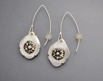 Peony Earrings