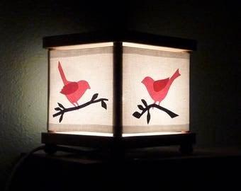 Bird Night Light Birds Decor Nightlight