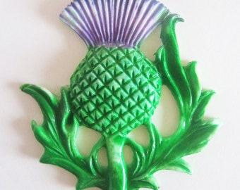 edible sugar thistles 2-d set of 12