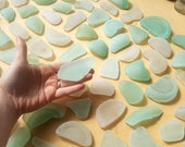 100 pieces of authentic sea glass - wedding name pieces - Scottish Beach Finds