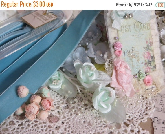 ON SALE Vintage Millinery Ribbon-Germany-Trim-Sewing-Dolls-Clothing-Scrapbooking-Embellishment-Card Making-Velvet-7/8 inch-BTY