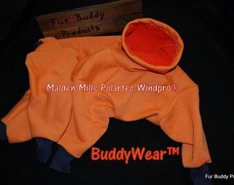 """22"""" Female Cut - BuddyWear Wind resistant Malden Mills Poly/Lycra 100 Fleece Suit  OOAK, same day shipping"""