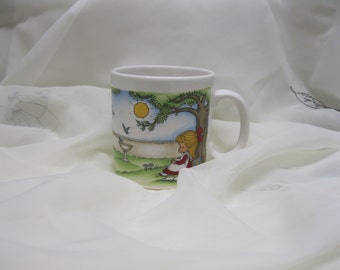 Vintage Joan Walsh Anglund Mug 1969 England Cup Gift