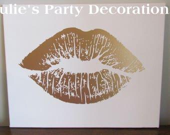 Lips Canvas