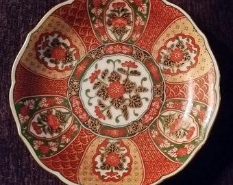Beautiful small Otagiri plate.