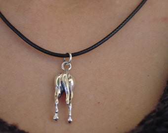 Horse Backside Pendant,Horse Hip Pendant,Horse Butt Necklace,Equestrian Pendant,Horse Backside Jewelry