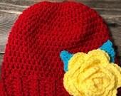 Ponytail / messy bun hat