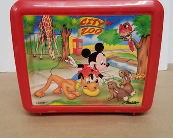 Vintage Mickey Mouse Lunchbox and Thermos