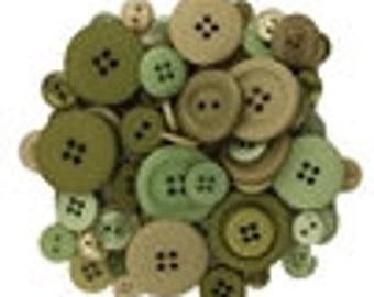 Buttons Kiwi Fruit