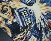 Exploding Tardis Dr Who Dog Bandana