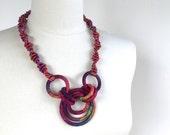 Textile Necklace Cancun