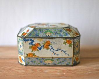 English Tin Candy tin antique tin vintage tin box