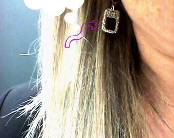Boucles d'oreilles en étain Bijoux Karambol
