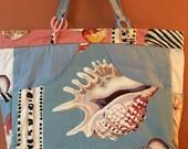 Phoebe #1310  Large Zippered Purse, Travel Purse, Knitting Bag, Knitting Tote,  Beach Bag, Large Project Bag, Project Tote, Zippered Purse