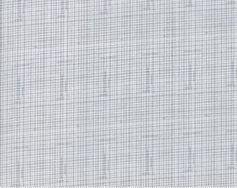 Hello World - Quilting Fabric from Moda - Grey Check