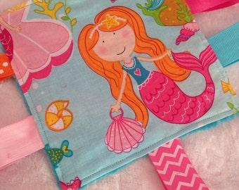 Mermaid Baby Girl Crinkle Toy