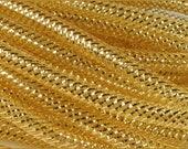 8MM Gold Gold Foil fFlex Tubing RE300445 (10 YARDS)