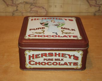1992 Hearshey's Milk Chocolate Tin - item #2424