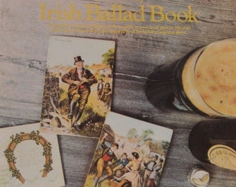 Soodlum's Irish Ballad Book 1982 Soft Cover Words Music and Lots of Black and White Photos - Get Ready for St. Patrick's Day
