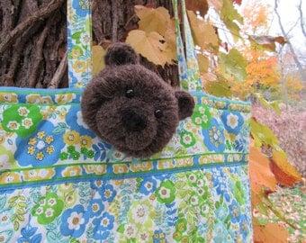 Bear Pin, Brooch, Clip, Fun Accessory