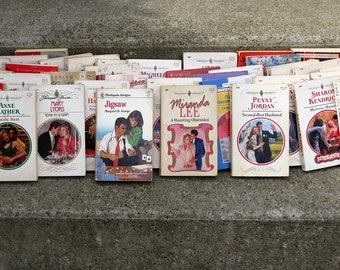 vintage harlequin romance collection 37 paperbacks 1990s editions