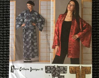 Simplicity 2940 Misses Wrap Skirt and Kimono in 2 Lengths Sewing Pattern Size XXS-M UNCUT