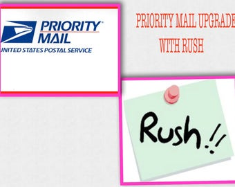 USA  PRIORITY or Express UPgrade With RUSH Order Processing , Domestic only shipping purchase for United States, 1-3 bus days