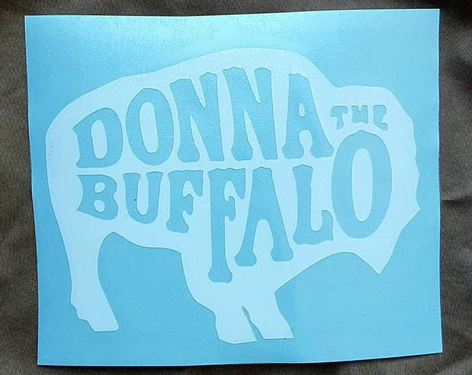 Donna the Buffalo Vinyl Graphic Sticker Decal