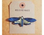 SALE 50% off! Death's Head Hawk Moth Pin