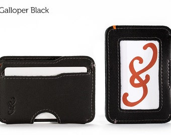 The Slim Credit Card Wallet - Black