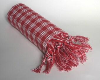 sale 50% off,  cotton peshtemal, red & white checkered tablecloth, turkish towel, beach towel, natural cotton, pestemal, turkish bath towel