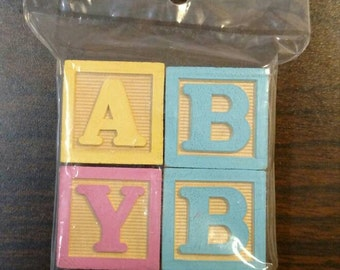 Baby blocks set of 4