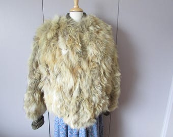 Short Cropped Neiman Marcus Coyote Coat