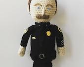 Crochet Policeman Doll