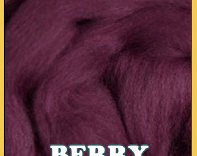 Ashland Bay Merino Roving - Shades of Purple