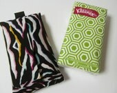 Tissue Case/Multi Color Zebra