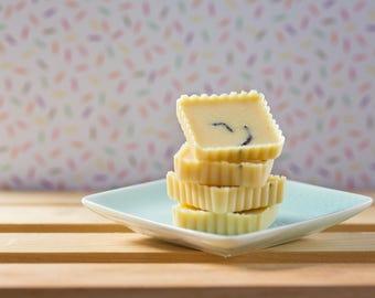 Vanilla Sugar Tub Truffle Box - Cocoa Butter Bath Melts